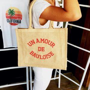 """Cabas """"amour de Bauloise"""""""